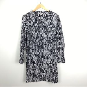 GAP black and white shirt dress